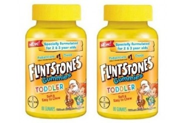 Flintstones Toddler Multivitamin Gummies 2 Bottle Pack