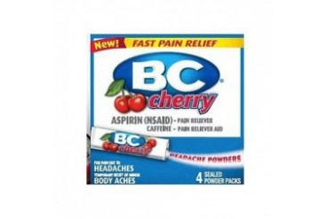 BC Aspirin Headache Powders Cherry Flavor Powdered Packs