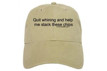 Poker Hat Humor Cap by CafePress