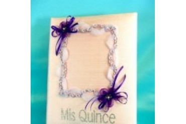 Simply Charming Quinceanera Photo Album - Style PA-QUIN/PK