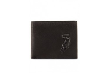 Polo Embossed Leather Wallet