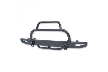 "Body Armor 4x4 Jeep YJ Xtreme TrailGear 59"" Front Bumper with 2"" Center and 1.5"" Hood Hoop  YJ-1931 Front Bumpers"