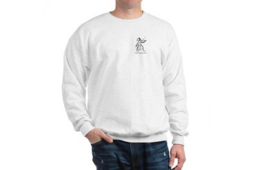 For cooler Days Gray Franciscan Sweatshirt by CafePress