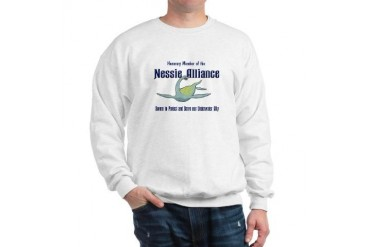 Nessie, Our Underwater Ally Cupsthermosreviewcomplete Sweatshirt by CafePress