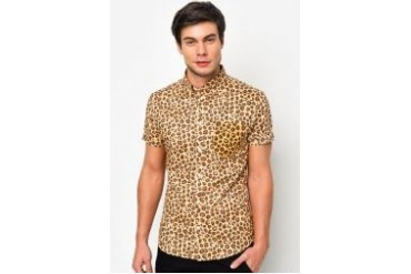 FMS by Radioactive Cheetah Short Sleeve Shirt