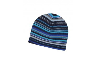 Signature Stripe Wool-Blend Beanie Hat