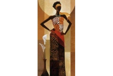 Amira Poster Print by Keith Mallett (24 x 48)