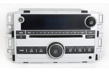Chevrolet Equinox 2008 Silver Radio AM FM Single Disc w Aux Input 25956995