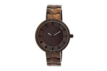 Earth Wood Branch Bracelet Watch-Dark Brown