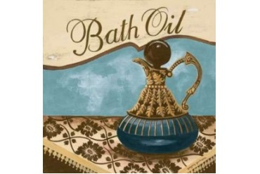 Bath Accessories II Poster Print by Gregory Gorham (24 x 24)