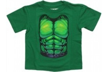 Marvel Comics Incredible Hulk Costume Suit Toddler T-Shirt