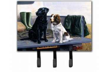 On The Tailgate Labrador and Springer Spaniel Leash or Key Holder