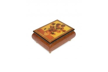 It's a Small World - ''Sunflowers'' Musical Jewelry Box
