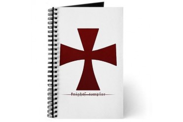 The Knights Templar Gifted twisted Journal by CafePress