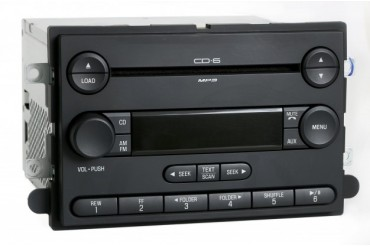 Ford Edge 2007 Lincoln MKX Audiophile Radio AM FM 6 Disc CD 7T4T-18C815-CG