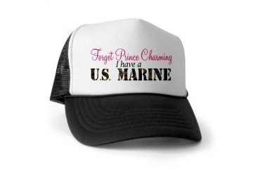 Forget Prince Charming.. I ha Military Trucker Hat by CafePress