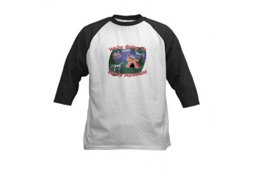 Candy mountain! Kids Baseball Jersey
