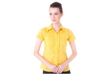 MARGIE Blouse with ruffles