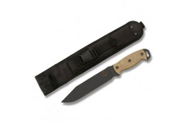 Ontario Ranger Series RD 7 Ready Detachment Knife with Tan Micarta Handle - Plain Edge