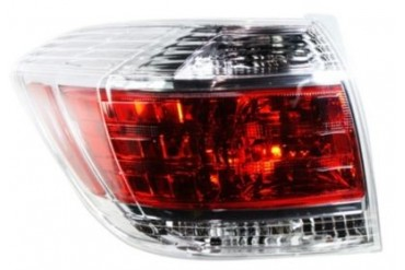 2011-2013 Toyota Highlander Tail Light Replacement Toyota Tail Light REPT730154 11 12 13