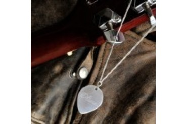 Engravable Gift Collection Guitar Pick Necklace - Style GC804