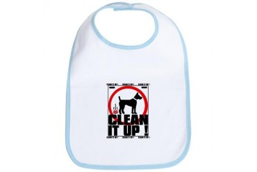 CLEANITUP Dog Bib by CafePress