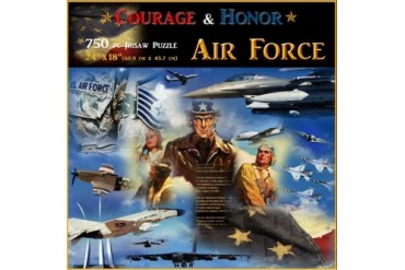 Air Force Courage amp Honor 750 Piece Puzzle