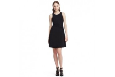 Gwen Matte Jersey Fit-and-Flare Dress