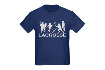 LACROSSE TEAM - Kids Dark T-Shirt