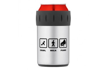 Pianist Thermos Can Cooler Music Thermosreg; Can Cooler by CafePress