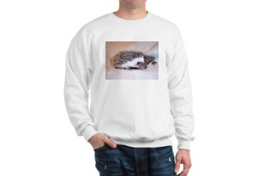 Double Trouble Hedgehogs World Sweatshirt by CafePress