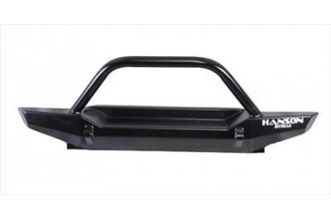 Hanson Offroad 52 Inch Front Winch Bumper with Winch Guard FJ51202-P Front Bumpers