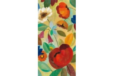 Summer Floral Panel II Poster Print by Silvia Vassileva (24 x 48)