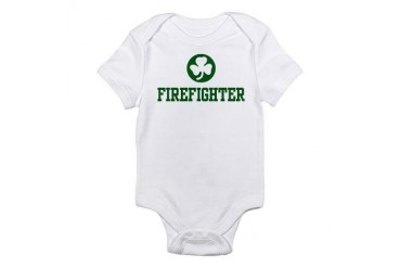 Irish Firefighter Infant Creeper