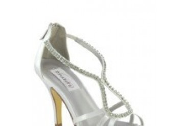 Dyeables Shoes - Style Josie White 33714