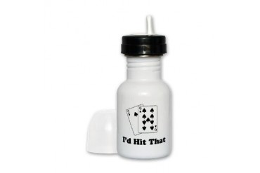 I'd Hit That Cards Cupsreviewcomplete Sippy Cup by CafePress