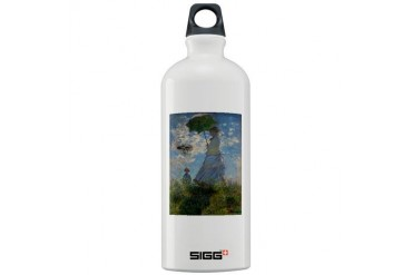 Boldly Going...Monet Art Sigg Water Bottle 1.0L by CafePress