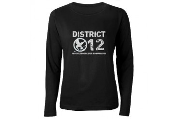 Hunger Games Women's Long Sleeve Dark T-Shirt