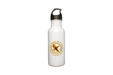 Golden Mockingjay Stainless Water Bottle 0.6L