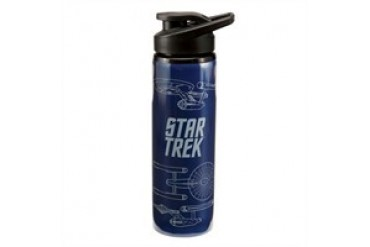 Star Trek U.S.S. Enterprise NCC-1701 Blueprints Water Bottle