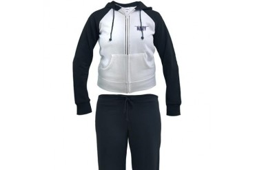 Navy Wife Military Women's Tracksuit by CafePress