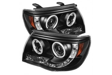Spyder Auto Group CCFL LED Projector Headlights 5030283 Headlight Replacement