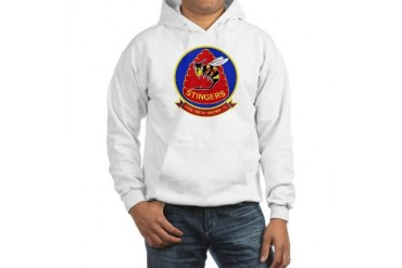 VFA 113 Stingers Military Hooded Sweatshirt by CafePress