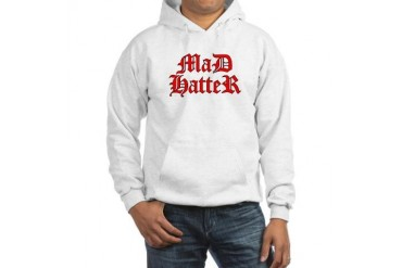 Mad Hooded Sweatshirt by CafePress