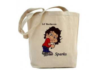 Sparks Lil Beethoven Beethoven Tote Bag by CafePress