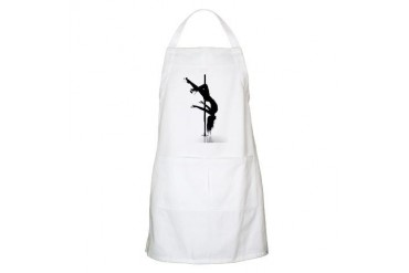 pole dancer 3 Sex Apron by CafePress