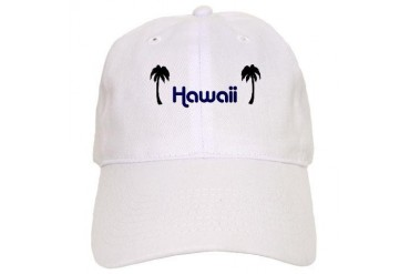 Retro Hawaii Retro Cap by CafePress
