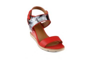 FLY Diedre Wedges Shoe Sandals Red