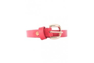 Big Buckle Leather Belt