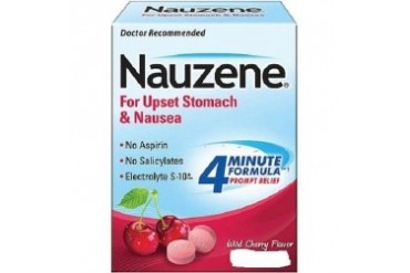 Nauzene Chewables Wild Cherry Flavor 50 Tablets